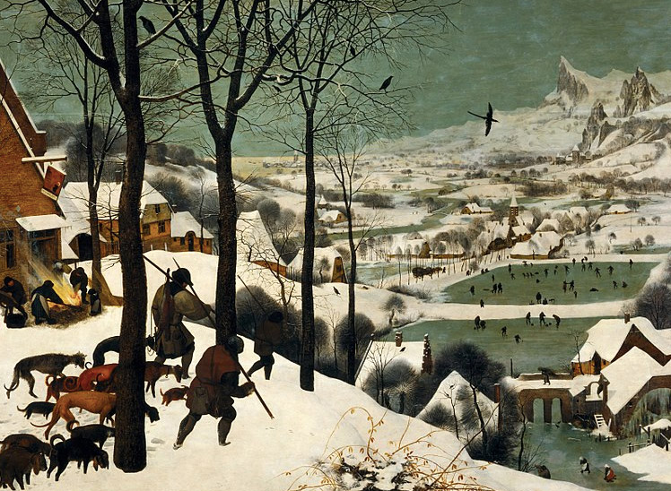 Bruegel Hunters in the Snow